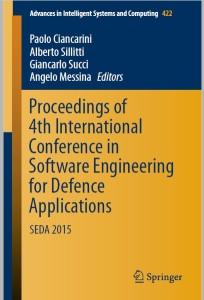 Proceedings SEDA 2015